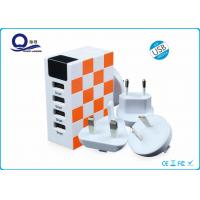 Wholesale Colorful Smart Multi Port USB Charger , Fastest USB Multi Phone Wall Charger from china suppliers
