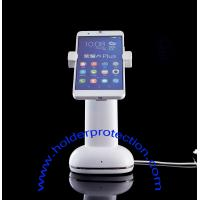 Wholesale COMER smart phone security gripper holders anti-lost cable locking alarm devices for phone shops from china suppliers