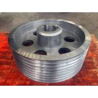 Wholesale AISI 1045 C45E AISI 4130 AISI 4140 AISI 4340 42CrMo4 34CrNiMo6 34CrMo4 Forging Forged Steel Belt Wheels from china suppliers