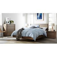 Wholesale Apartment Furniture Modern design Bedroom sets of Single Bed with Nightstand and Drawer Chest from china suppliers