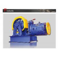 Wholesale Elevator Parts / Geared Traction Machine With AC Motor , Load 800 - 1000 KG  SN-TMYJ210A from china suppliers