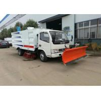 Wholesale Dongfeng Vacuum Road Sweeper Truck 8000 Liters 4x2 6x4 8x4 With Snow Shovel from china suppliers