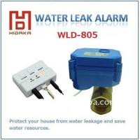 WLD-805 water alarm with automatic turn off system