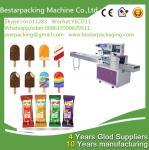 Wholesale Máquina automática de envasado de paletas con alimentador, máquina de envolver polos de hielo from china suppliers