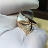 Buy cheap Factory jewels Bvlgari divas' dream  series ring 18k white gold yellow gold rose gold diamond fritillaria ring from wholesalers