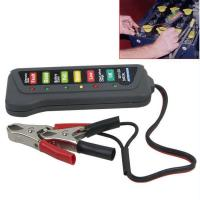 Wholesale 12V Digital Automotive Battery Tester Alternator Tester With 6 LED Lights Display from china suppliers