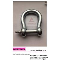 Wholesale European type large bow shackle from china suppliers