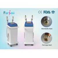 Buy cheap 2016 2 handles professional rf needling thermage face lift machine for sale from wholesalers