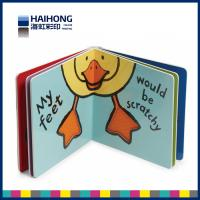 Wholesale Custom board book printing on demand for children , 300 gsm one side coated art paper from china suppliers