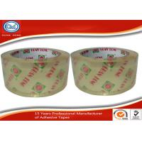 Buy cheap OEM Printed Single Sided Crystal Clear Packing Tape For Carton Sealing from wholesalers