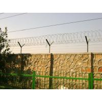Buy cheap Custom Anti Corrosion Concertina Razor Wire , Straight / Spiral Razor Wire from wholesalers