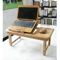Wholesale High quality bamboo folding computer desk from china suppliers
