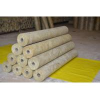 Wholesale Thermal Rockwool Pipe Insulation Light Weight Thickness 25mm - 100mm from china suppliers