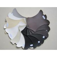 Wholesale Flocking Eco Friendly Perforated Leather Fabric , Pu Synthetic Leather from china suppliers
