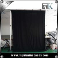 Wholesale Wedding event supplies pipe and drape fabric backdrop decoration from china suppliers