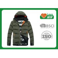 Wholesale Double Layer Warm Down Jacket Waterproof For Hiking / Running from china suppliers