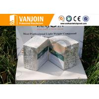 Wholesale heat insulation sandwich wall panel , precast eps wall panels composite from china suppliers