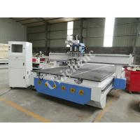 Quality Heavy Duty Three Process Air Cooling Spindle Wood Cnc Router Machine With Side Rotary Axis for sale