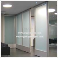 Buy cheap Clear Glass Partition for Office Wall from wholesalers