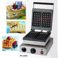 Wholesale with recipe for square type of waffle maker, 110V /220v waffle machine/Snacks machines of cake baker from china suppliers