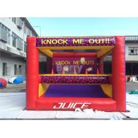 Wholesale Amusement Park Kids Inflatable Interactive Games Knock Me Off And Out from china suppliers