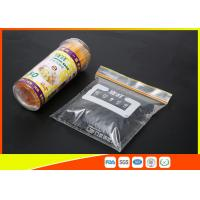 Wholesale  High Clarity Resealable Resealable Freezer Bags For Frozen Food from china suppliers
