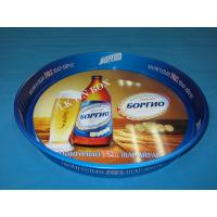 Wholesale 0.3mm Big Doulbe Sides Printed Round Tin Ice Bucket Beer Serving Tray from china suppliers