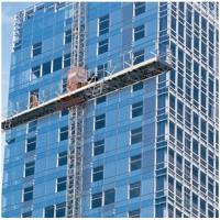 Wholesale 150m Height Single Aerial Lifting Mast Climbing Work Platform for Building Construction from china suppliers