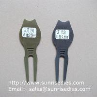 Quality Golfer Divot tools for repairing pitch mark, Wholesale Metal Golf Divot repair tools for sale