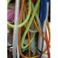 White Cable Mesh Sleeve Decorative Color Polyester Tapes