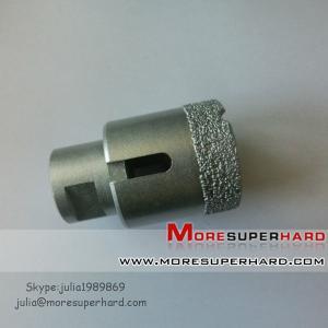 Wholesale Vacuum brazed diamond core drill bit,Vacuum brazed diamond tools from china suppliers