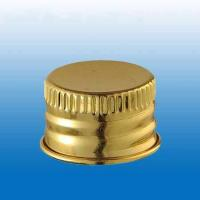 Wholesale 28mm Aluminum Cosmetic Bottle Cap , custom metal crown cap from china suppliers