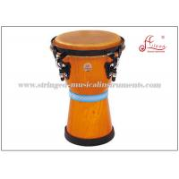 "Wholesale Wooden Percussion African Djembe Drums Musical Instruments 8"" X H13"" from china suppliers"