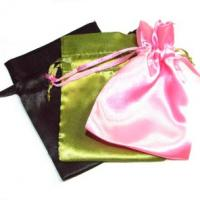Wholesale Various Color Reusable Satin Drawstring Bags , Advertising Gifts Bags from china suppliers