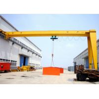 Wholesale Customized Track Travelling Semi Gantry Crane Single Beam 3~20 Ton Mid Duty Type from china suppliers