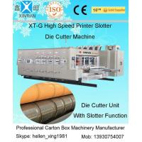 Buy cheap Corrugated Box Flexo Printer Carton Making Machine 1600 X 3000mm Max Feeding Size from wholesalers