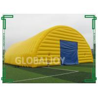 Wholesale High Wind Resistance Outdoor Yellow Huge Inflatable Tent For Adults from china suppliers