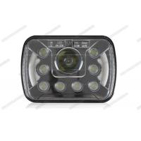 Wholesale 7 Inch High Low Beam LED Headlights , Easy Install HID Headlight Replacement from china suppliers