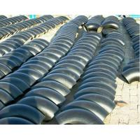 Wholesale ASTM A234 WPB Carbon Steel Elbow 1/2mm - 48mm , 45 Deg / 90 Deg / 180 Deg from china suppliers