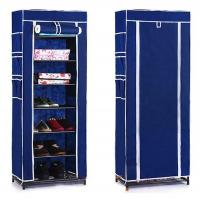 Wholesale Modern 7 Layer Shoe Storage Racks with Fabric Cover , High Floor Standing Shoe Storage Units from china suppliers