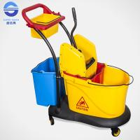 Wholesale Double Mop Bucket With Wringer from china suppliers