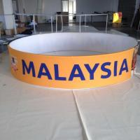 Wholesale Promotions Hanging Trade Show Displays And Ceiling Sign With Tension Fabric from china suppliers