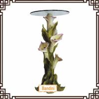 Wholesale Antique polyresin End Table, Side Table Rounded Shape,flower table G018 from china suppliers