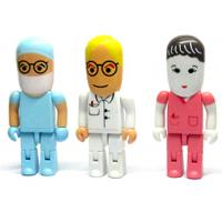 Wholesale Custom multifarious doctor usb flash drive, nurse usb stick, engineer usb drive, robot usb from china suppliers