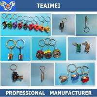 Wholesale Customized Luxury New Design Car Key Keychains Logo Metal Best Chrome Keychains from china suppliers