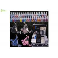 Wholesale Black Aluminium Case Pro Tattoo Kits / Professional Tattoo Gun Kits from china suppliers