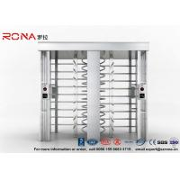 Wholesale Security Controlled Full height Turnstile Security Gates Rapid Identification with Double Door with RFID Card from china suppliers