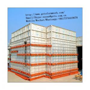 China Best Quality Aluminium Alloy Concrete Frame Building Formwork 100x100 Aluminium Profile/aluminium extrusion profile on sale
