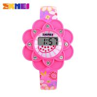 Wholesale Sunflowers Girls Digital Wrist Watch Waterproof Custom Logo from china suppliers