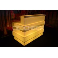 Wholesale Outdoor Led Bar Counter Night Club Led Bar Table Polyethylene Plastic from china suppliers
